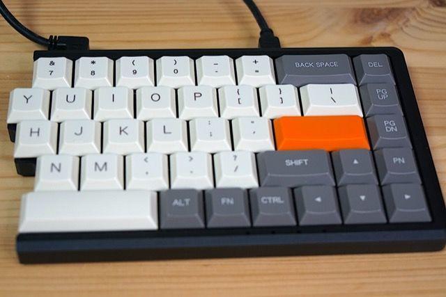 MD650 Mistel BAROCCO 分離型 キーボードCherry ML MD650L MD770 フィルコ 肩こり 首 疲れ減る ロープロファイル