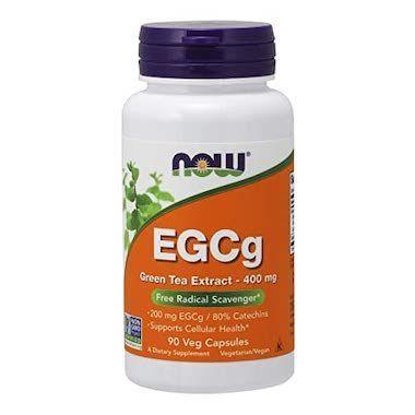 EGCg 緑茶エキス サプリ Now foods 胃 食道 気持ち悪い 合わない 注意 ダイエット