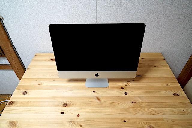 iMac 21.5 インチ 4k 2019 おすすめ レビュー core i3 16gb 512gb elago デスクトップ