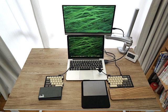 Trendy'S 4K 15.6インチ モバイルモニター レビュー おすすめ iMac に合う ノングレア 安い デュアルモニター ディスプレイ MacBook Pro ケーブル