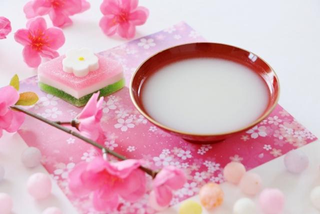 桃花酒 桃の節句 甘酒