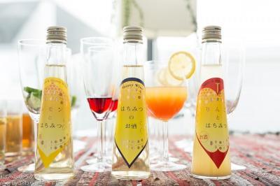 はちみつのお酒3種…!