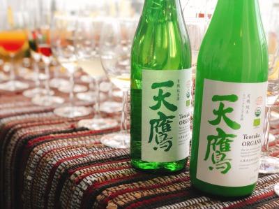 私といえば日本酒!きちんと用意しました!