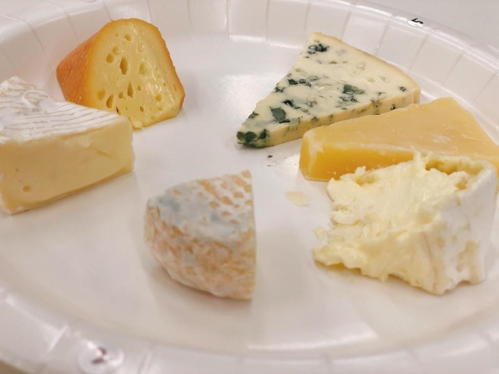 ぐるっと6種類のチーズたち