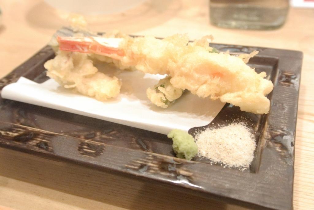 カラッとあがった天ぷらが