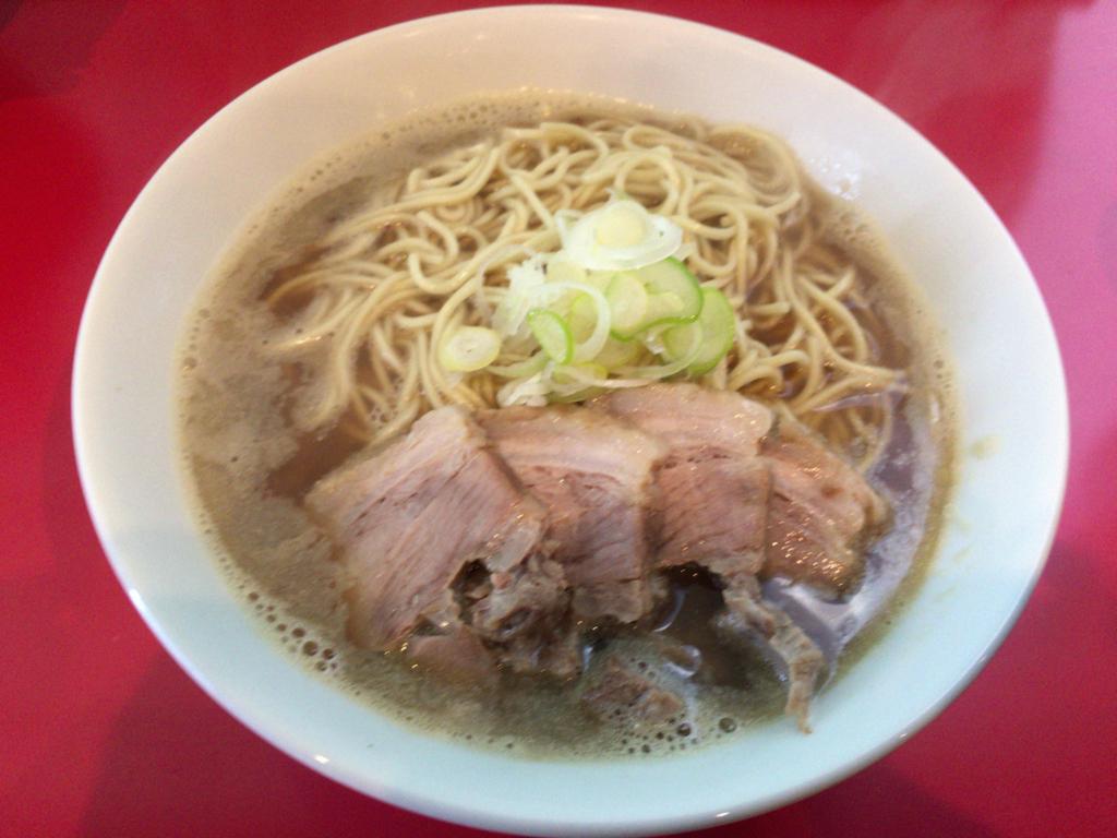台東区浅草観音通り 久々に食べる、中華そば つし馬の中華そば(並)!!!の画像