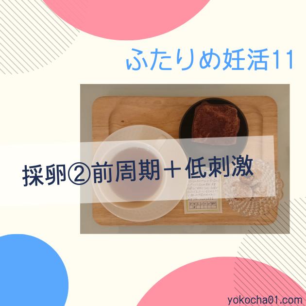 採卵②前周期+低刺激|ふたりめ妊活11