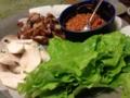 ラップサラダ サムギョプサル風&鶏ハム