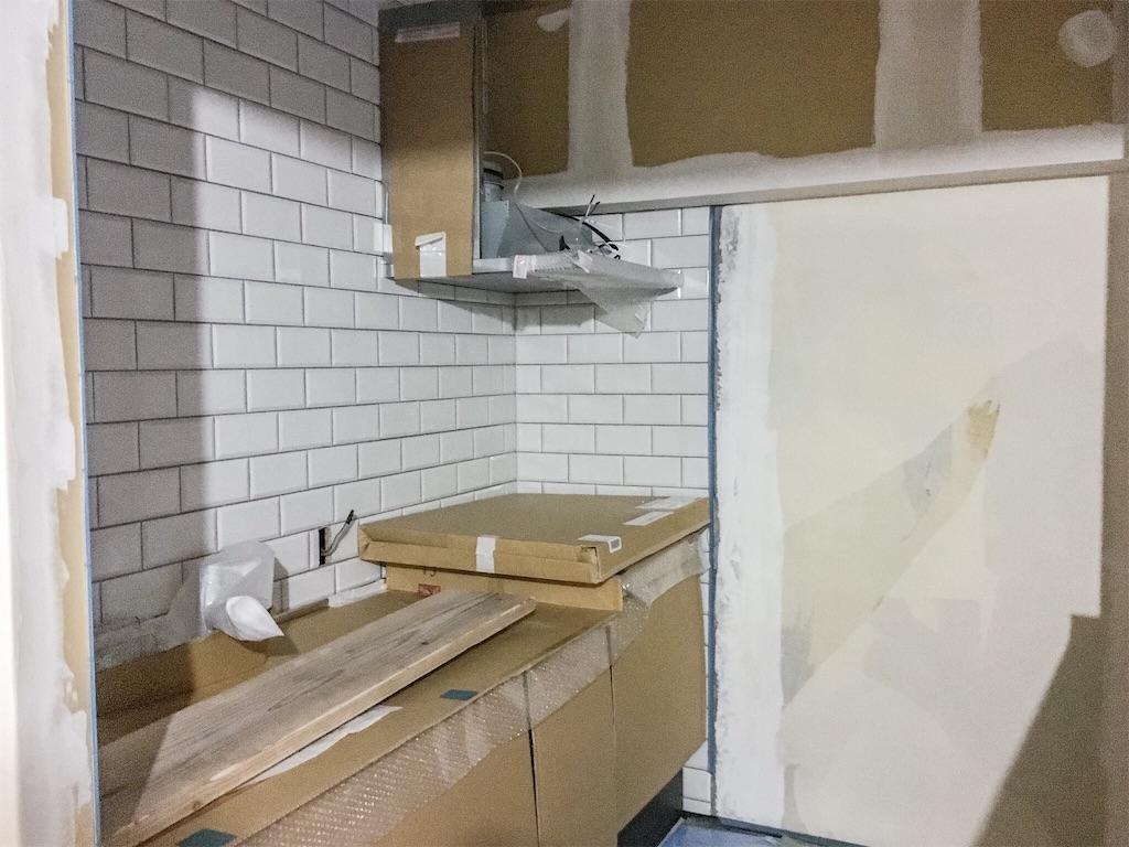リノベーションで新調したクリナップ・ラクエラのシステムキッチン