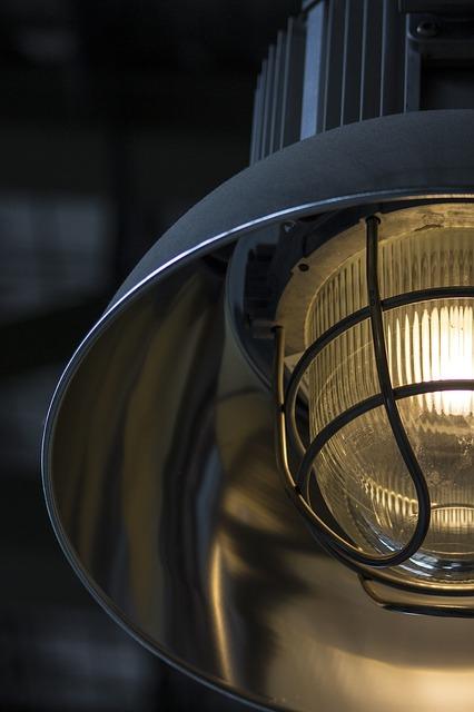 インダストリアルをイメージさせる工業ランプ