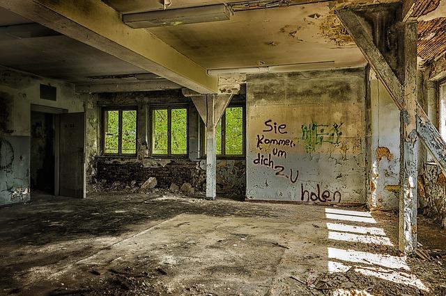 解体した部屋の様子