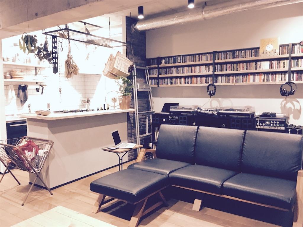 レザー素材にしたSabiSabiのRM Sofa