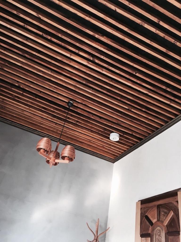 個性的な天井