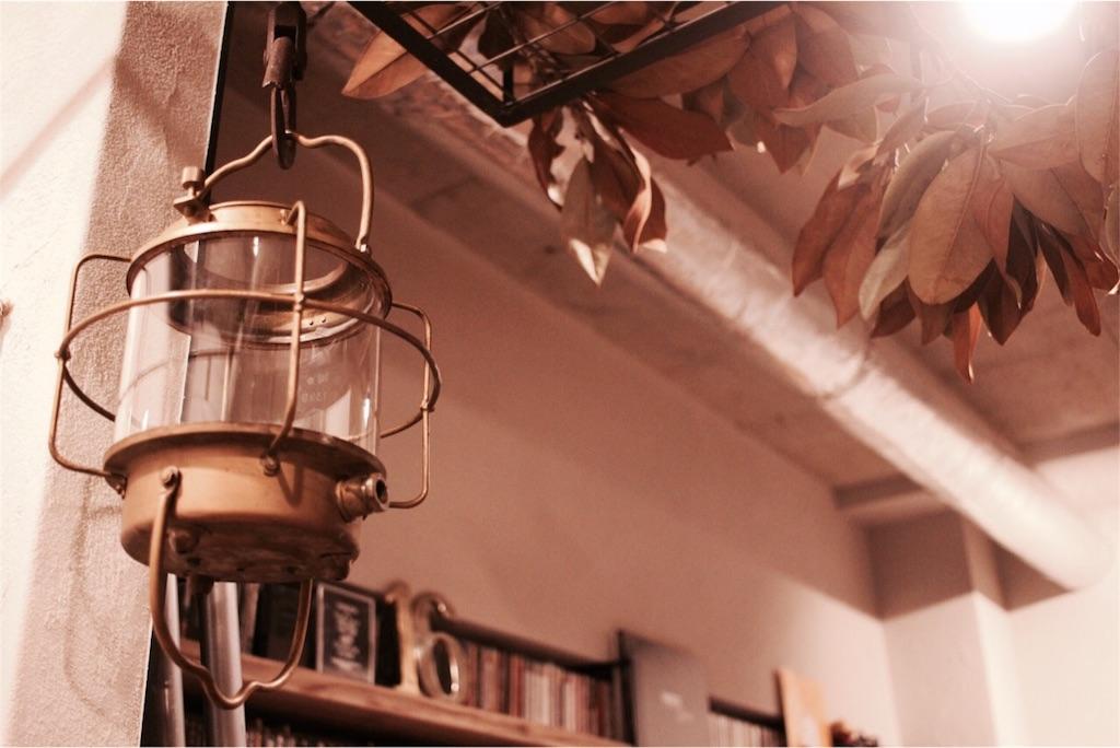 古い真鍮の漁船ランプ