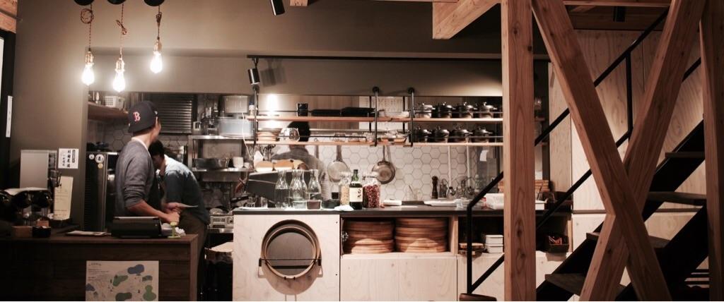 35stock厨房の様子
