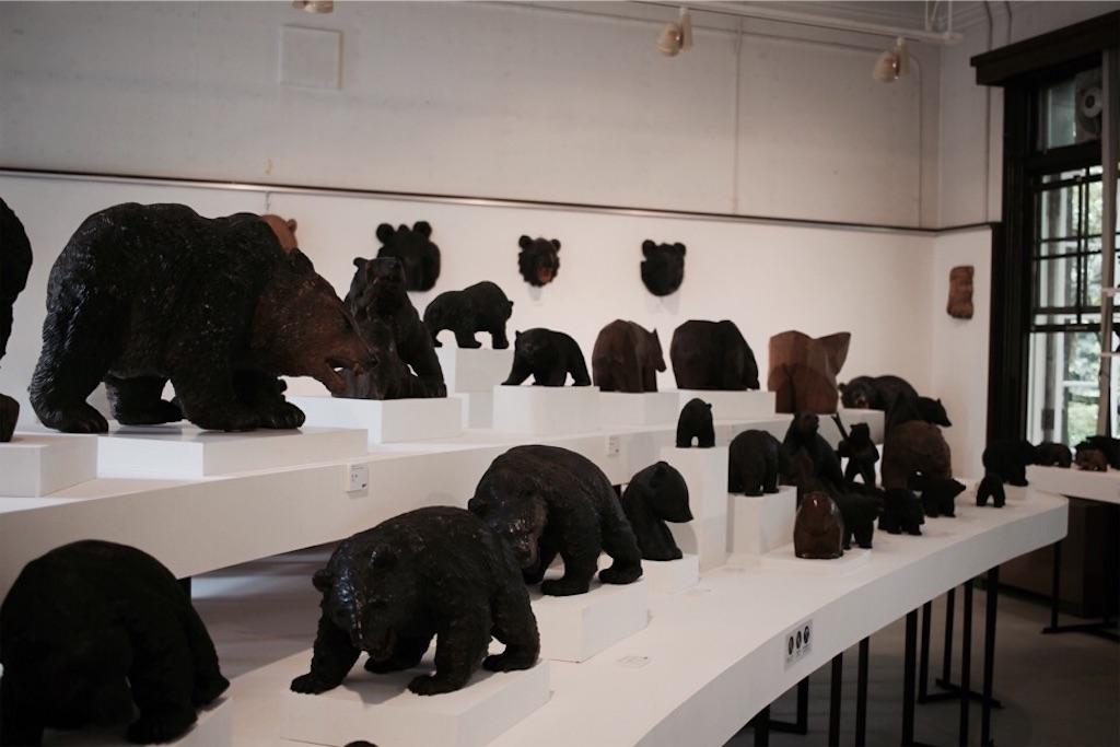 札幌国際芸術祭「北海道の木彫り熊」