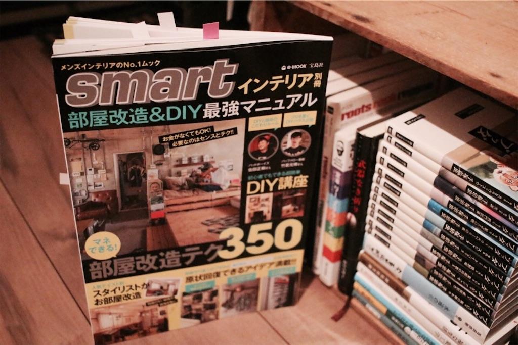8月21日(月)発売のsmartインテリア別冊 部屋改造&DIY最強マニュアル
