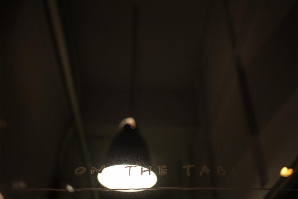 東川町「ON THE TABLE」のガラス戸