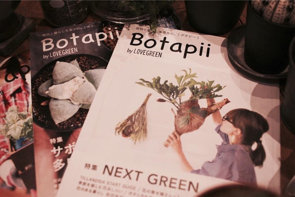LOVEGREEN発行のBotapii(ボタピー)