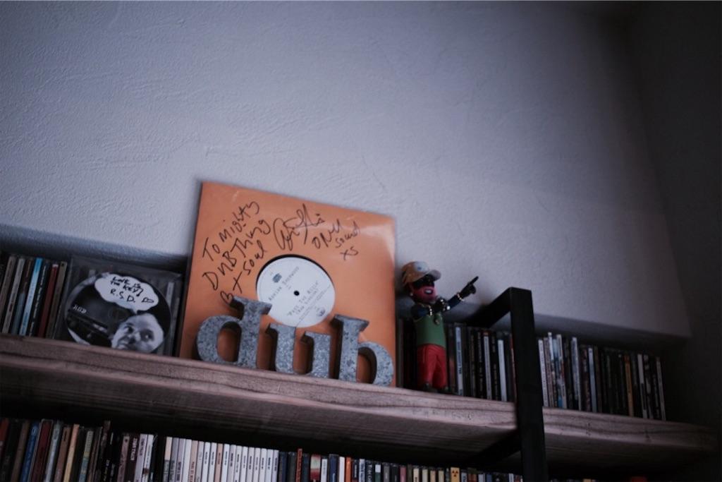 AdrianSherwoodのサインとRobsmithのCDとLeeperryのフィギュア