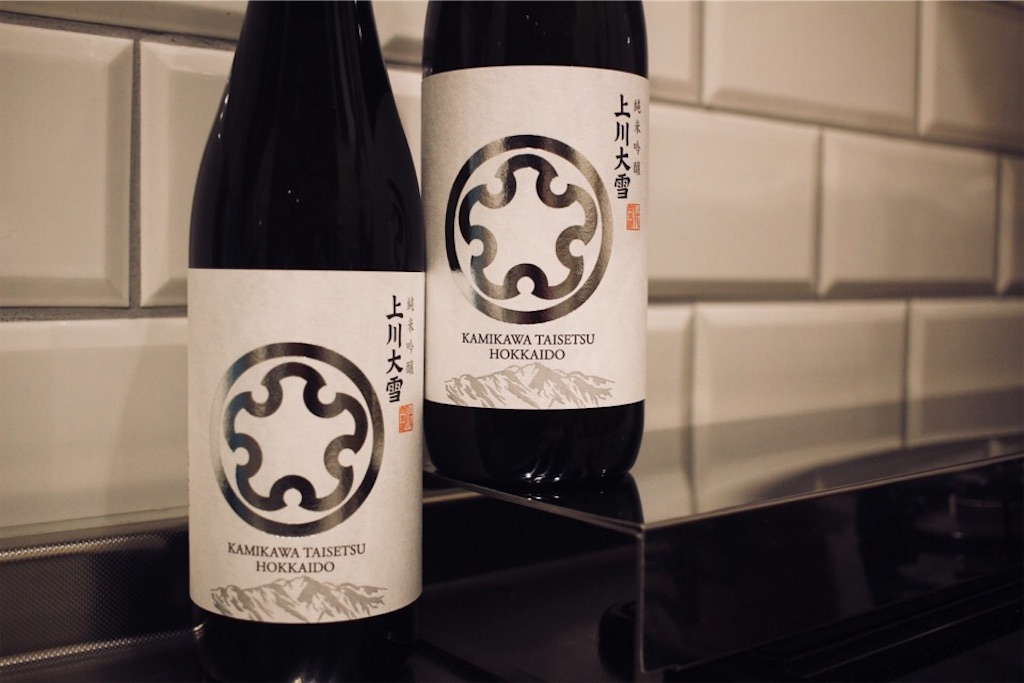 お取り寄せした上川大雪酒造の日本酒