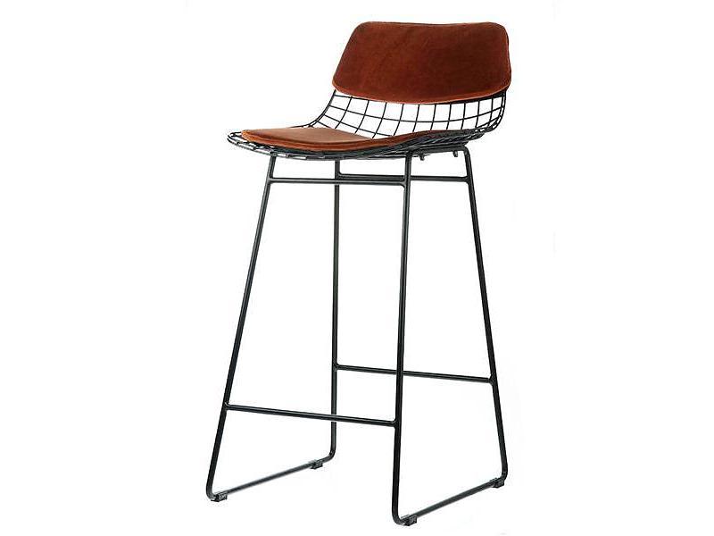 HK Living(エイチケーリビング)metal bar stool