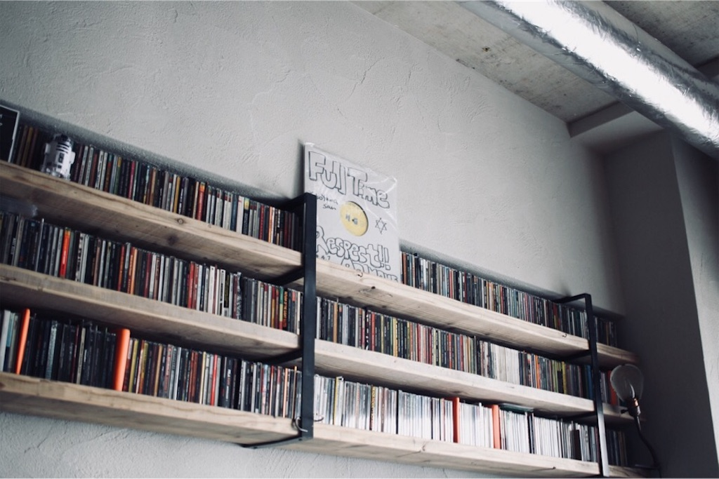 DRY&HEAVYのシンガー・MC「ao inoue」さんのサインとCD収納