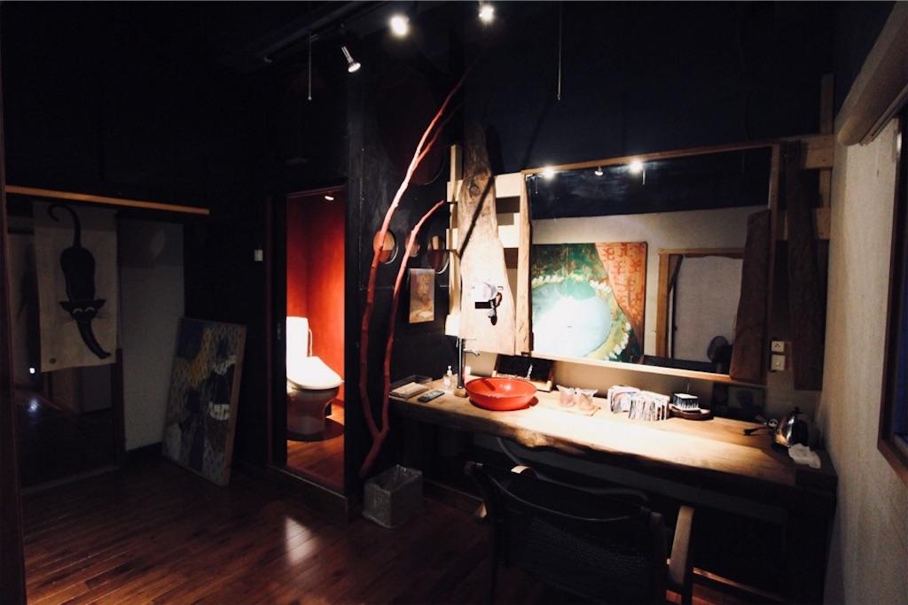ARtINn 極寒藝術伝染装置・Room 壱のパウダールーム