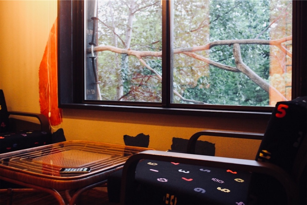 ARtINn 極寒藝術伝染装置・Room 壱のリビング