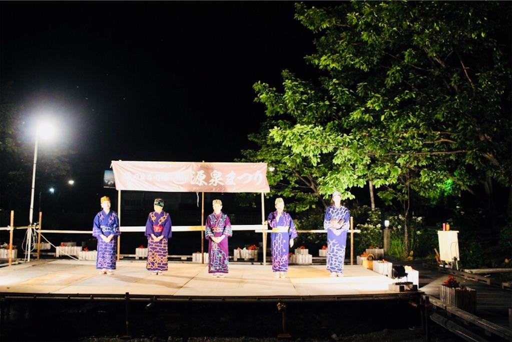 川湯温泉で見られるアイヌ舞踊