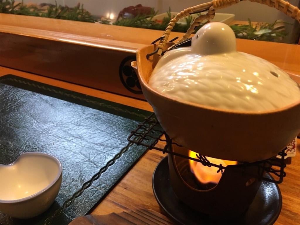 「味楽寿司」の土瓶蒸し