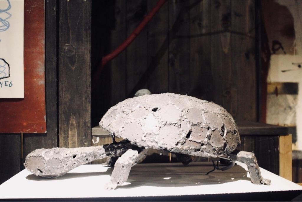 ARtINn 極寒藝術伝染装置にある自虐亀