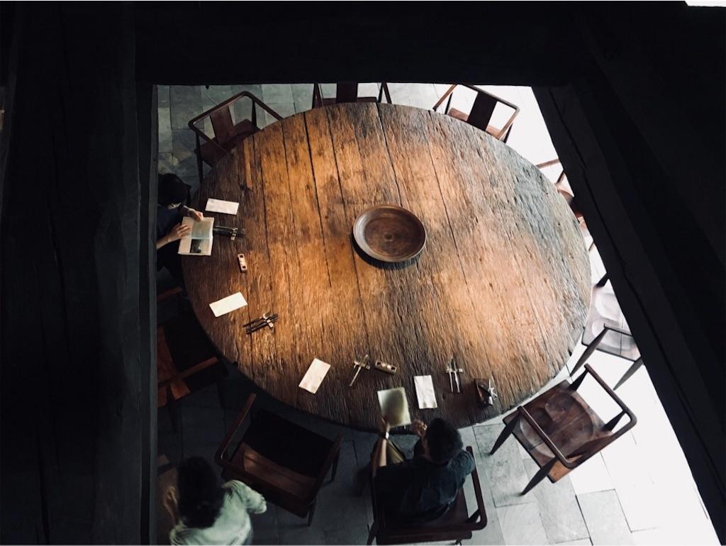 ニセコ『SOMOZA(そもざ)大きなテーブル