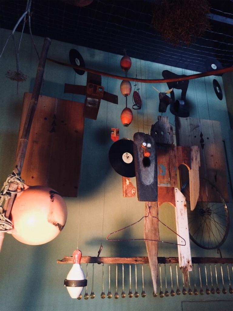 廃材などを使ったシゲチャンの作品