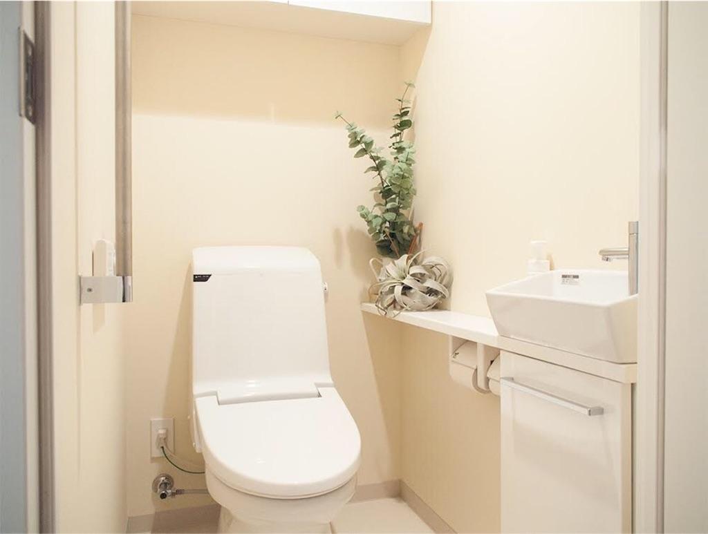 築浅マンションのトイレ