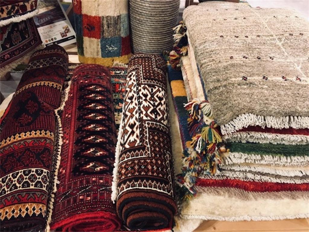 ギャッベの絨毯やラグ