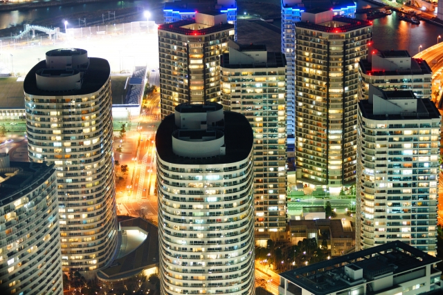 タワーマンション・夜景