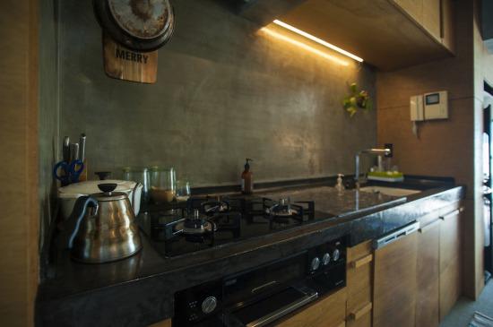 リノベーションで造作したオリジナルキッチン