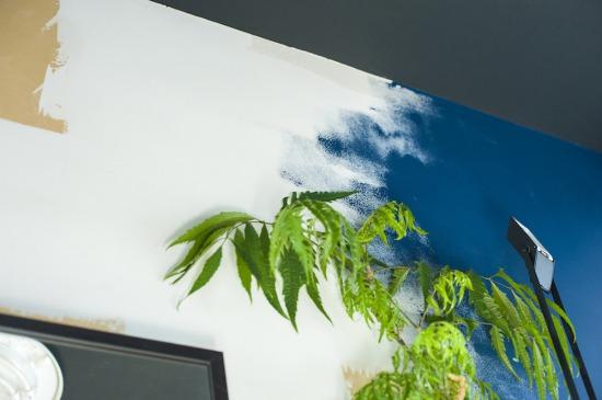 DIYルームの壁