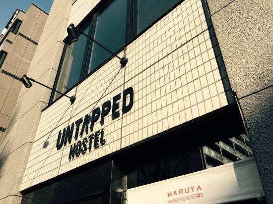 UNTAPPED HOSTEL(アンタップト・ホステル)外観