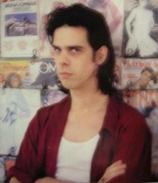 ロッキング・オン1990年4月号のニック・ケイヴ写真