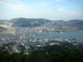 稲佐山公園展望台から撮影
