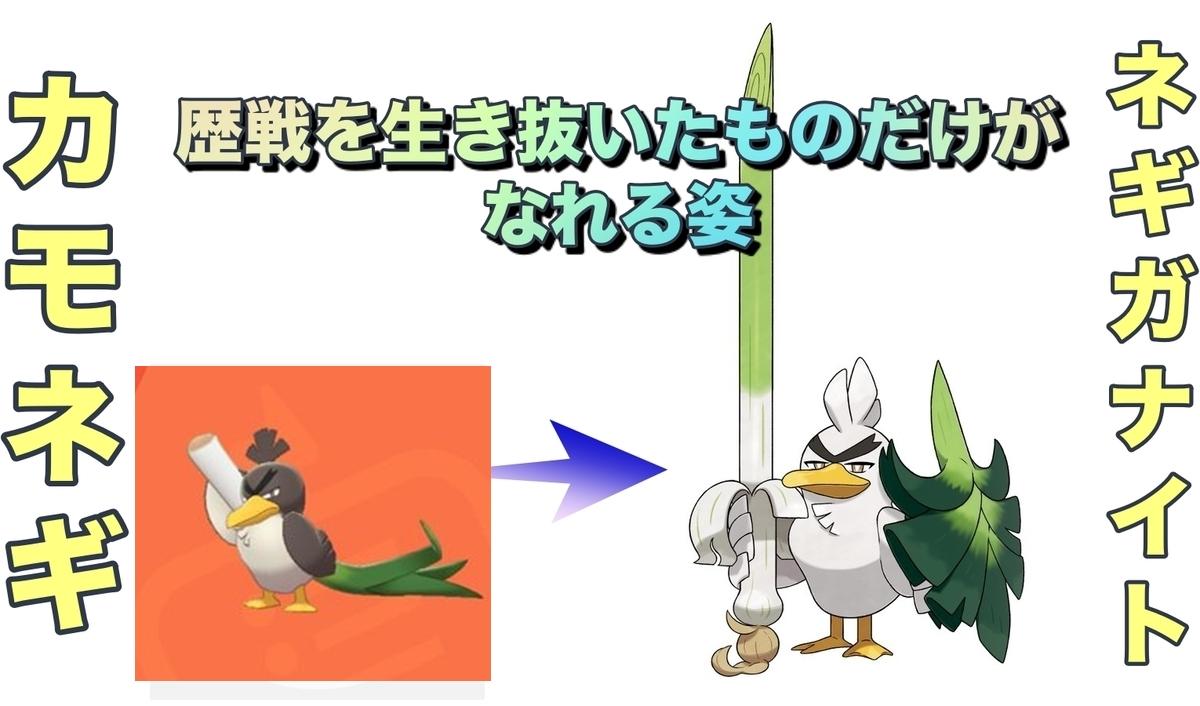 ポケモン剣盾】ネギガナイト進化条件・出現場所【種族値