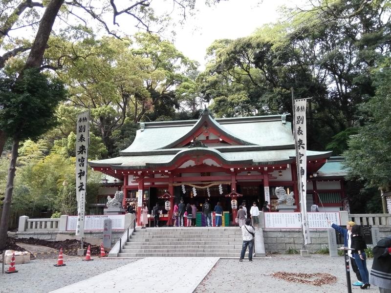 来宮神社拝殿