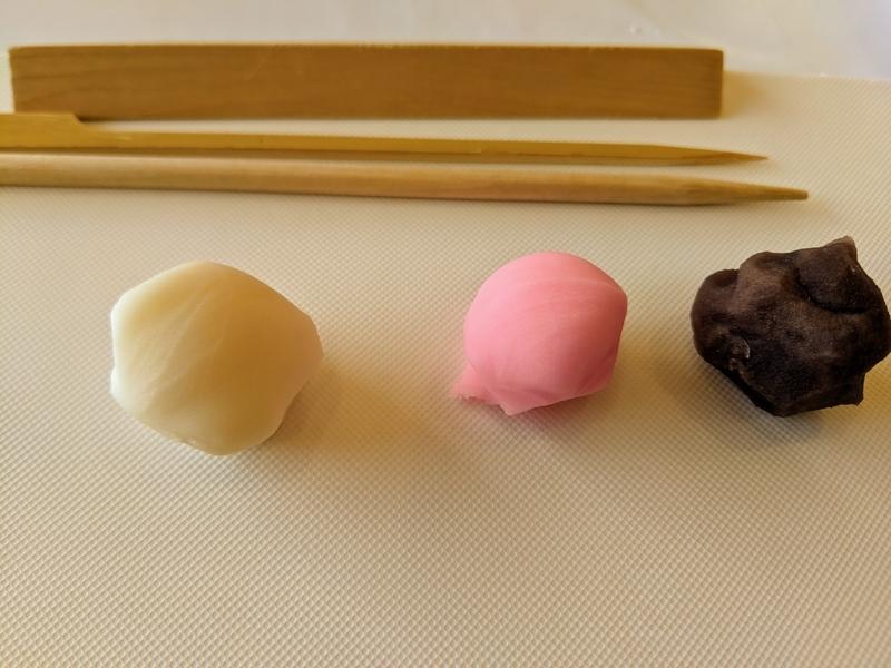 和菓子の材料