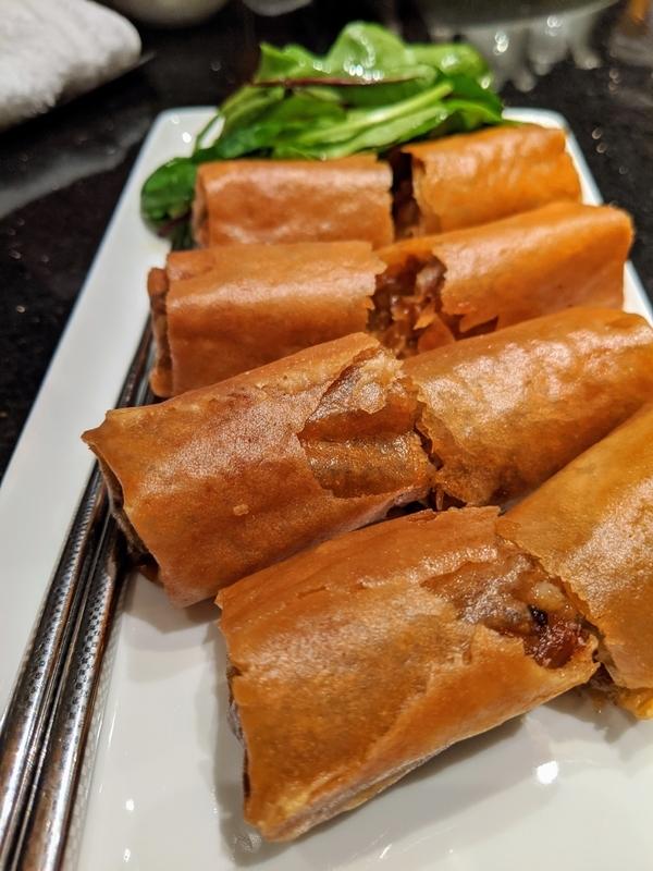 中華料理、春巻