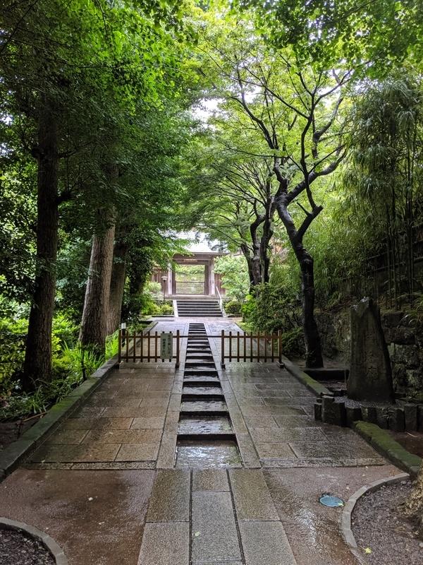 円覚寺の立ち入り禁止区域