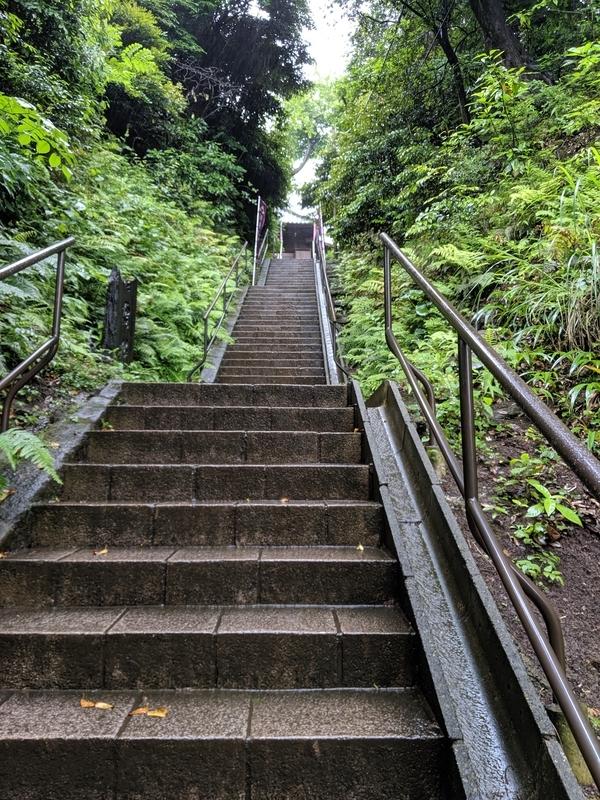 国宝の洪鐘への階段2