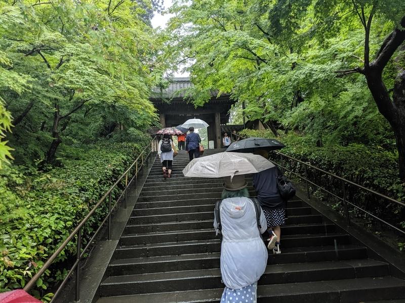 円覚寺の階段