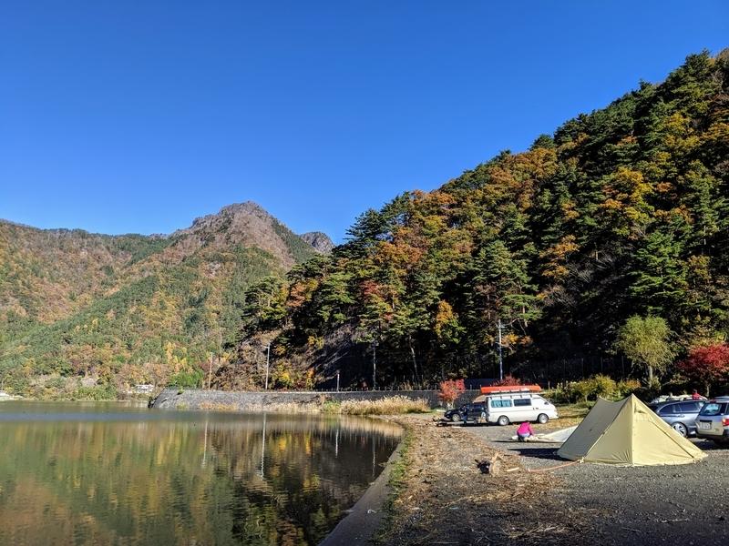 西湖の紅葉